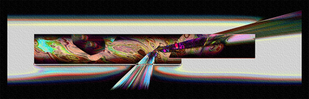 """Impacts at Jupiter"" © BMM 2008: Up to 8.5"" x 11"" Hand Made Print 	$375.00 US