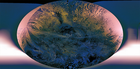 """Oval Planet"" © Brad Michael Moore 2008"