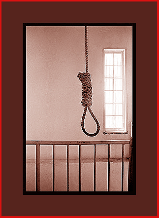Hangman's Noose in the old Palo Pinto County Jail""