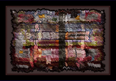 """My Native Parchment Series"" © Brad Michael Moore 2008