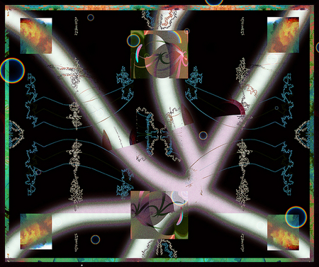 """Night Mapping, Digital Artifacts"" © BMM 2008"